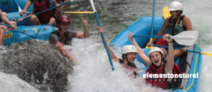 Travel blog Visit Costa Rica, go rafting