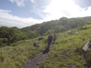 Trekking Concepcion Volcano, Ometepe, Nicaragua