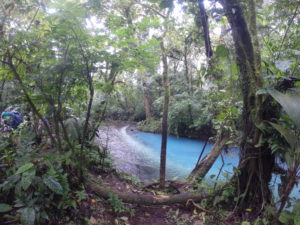 Travel Costa Rica, hike Tenorio National Park and Rio Celeste