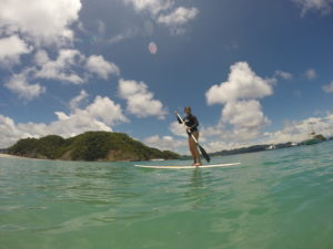 Stand up paddle Isla Tortuga