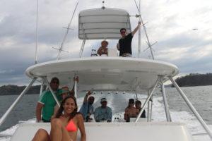 Private yatch Isla Tortuga