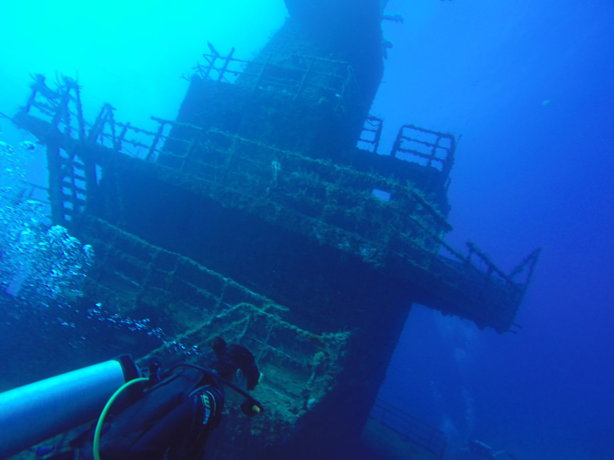 Scuba diving Roatan