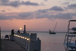 Visit Roatan sunset