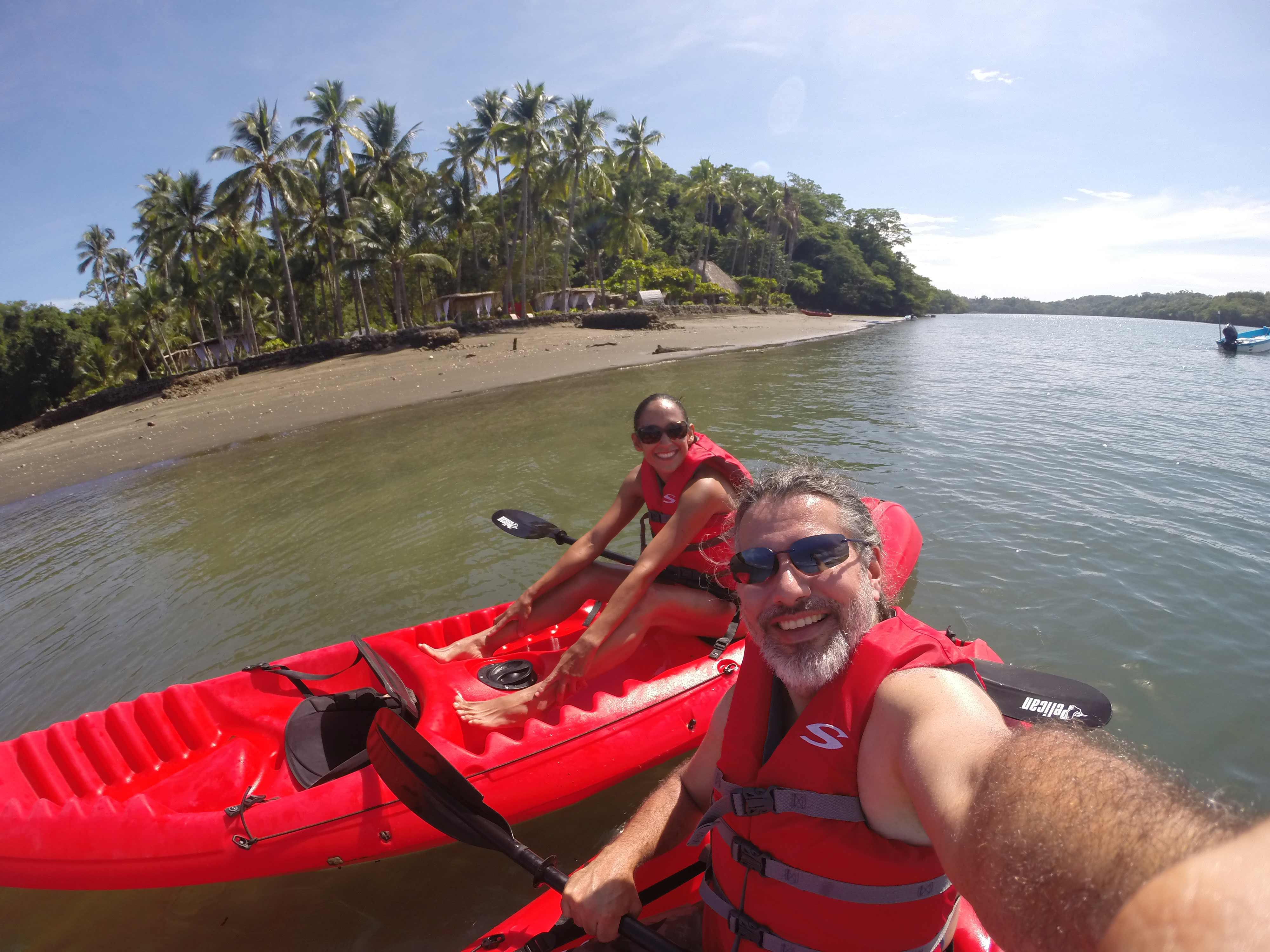 Kayaking and glamping in Costa Rica